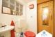 Gäste-WC mit Sauna